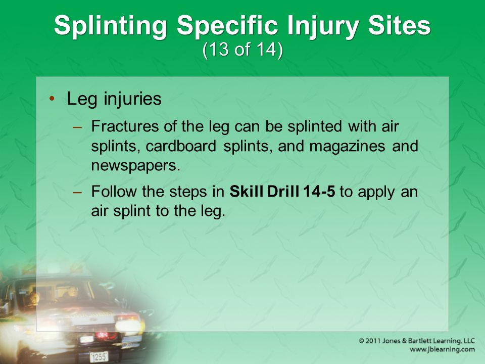 Splinting Specific Injury Sites (13 of 14)