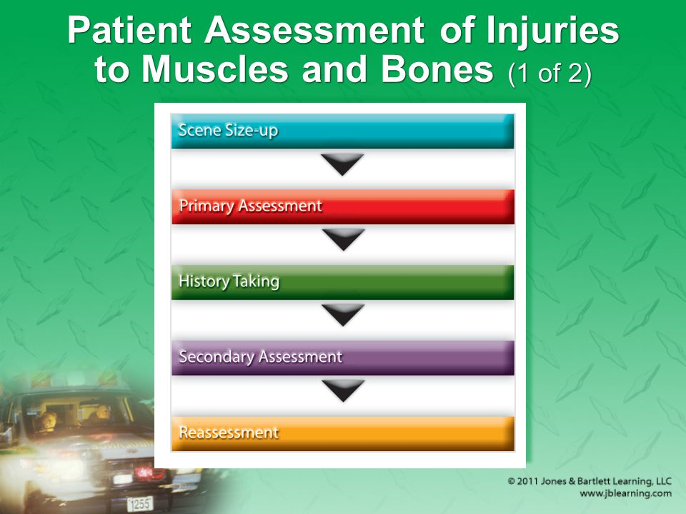 Patient Assessment of Injuries to Muscles and Bones (1 of 2)