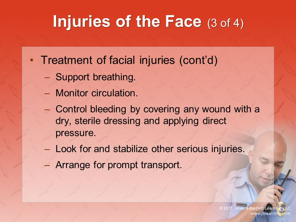 Injuries of the Face (3 of 4)
