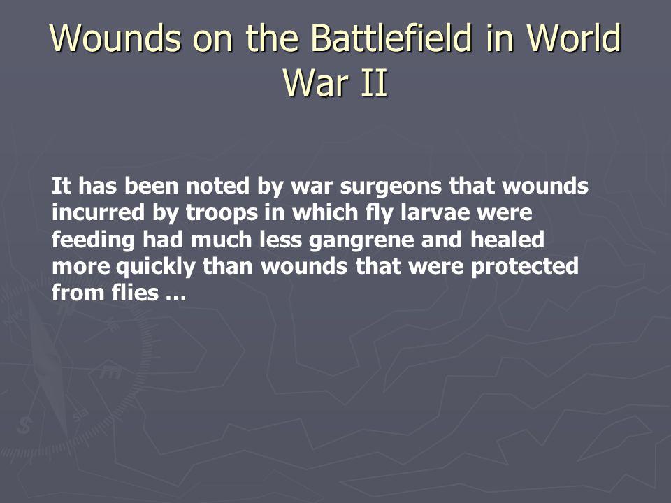 Wounds on the Battlefield in World War II