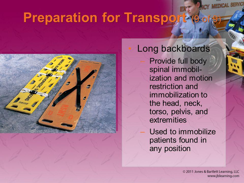 Preparation for Transport (9 of 9)
