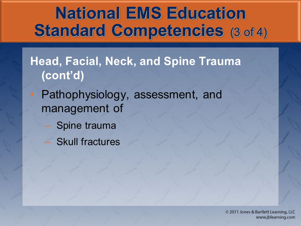 National EMS Education Standard Competencies (3 of 4)