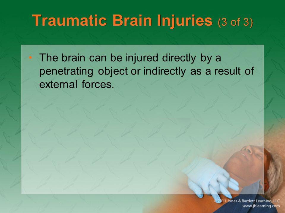 Traumatic Brain Injuries (3 of 3)