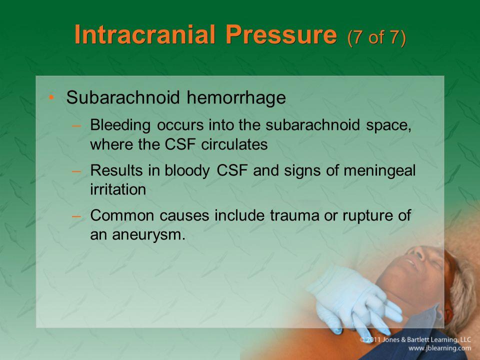 Intracranial Pressure (7 of 7)