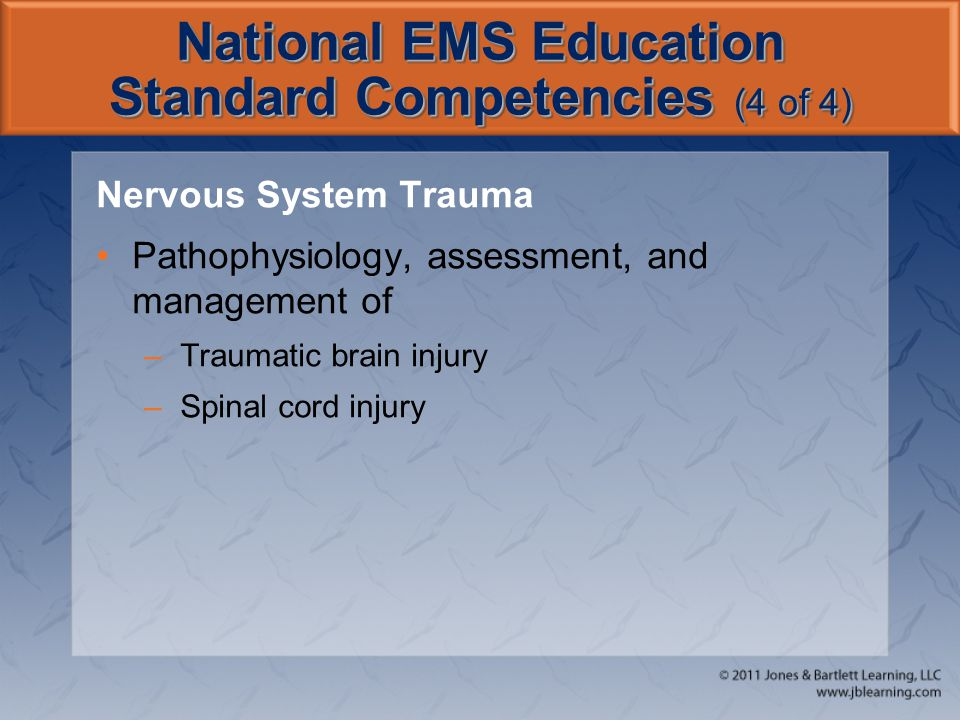 National EMS Education Standard Competencies (4 of 4)