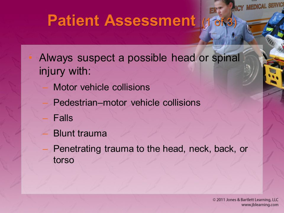 Patient Assessment (1 of 3)
