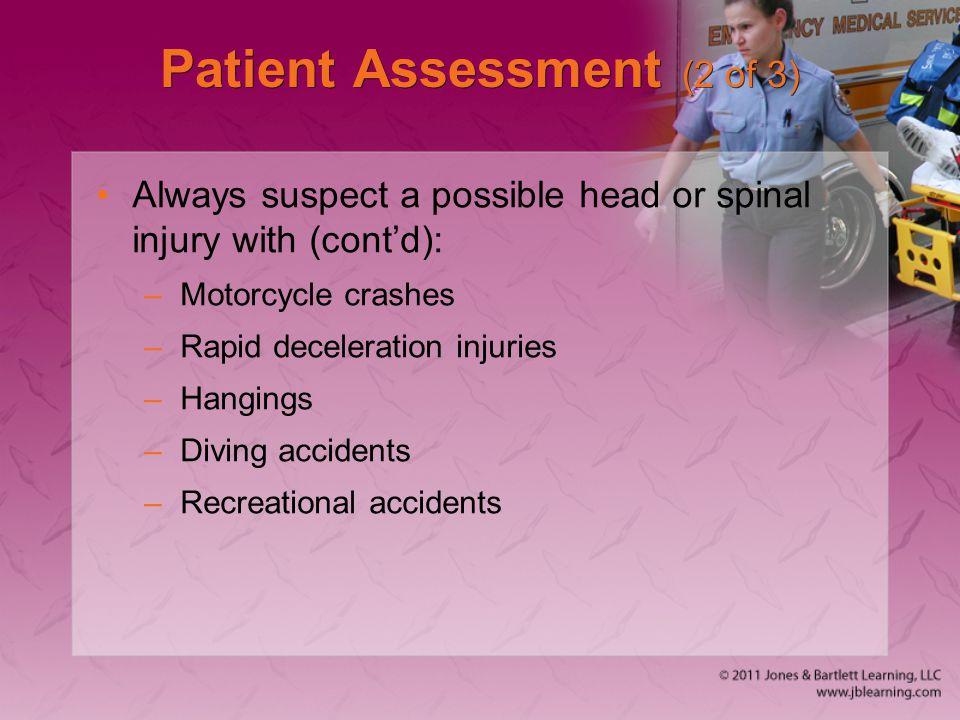 Patient Assessment (2 of 3)