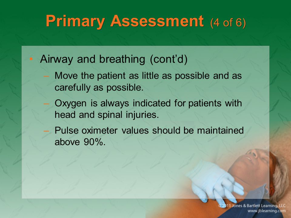 Primary Assessment (4 of 6)
