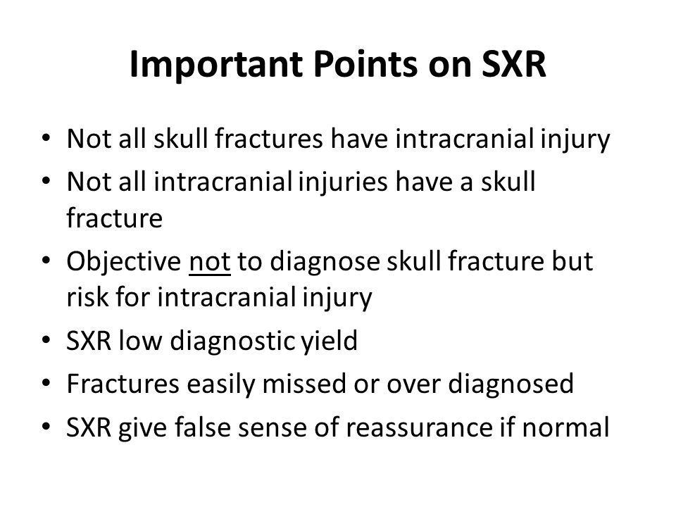 Important Points on SXR