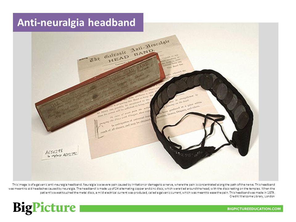 Anti-neuralgia headband