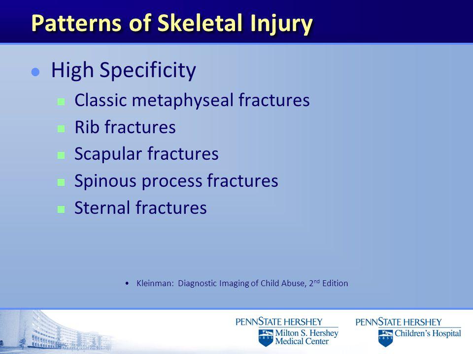 Patterns of Skeletal Injury