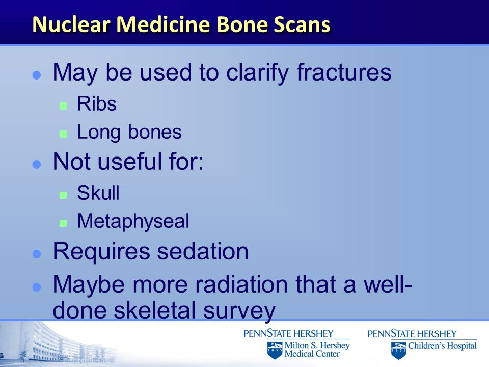 Nuclear Medicine Bone Scans