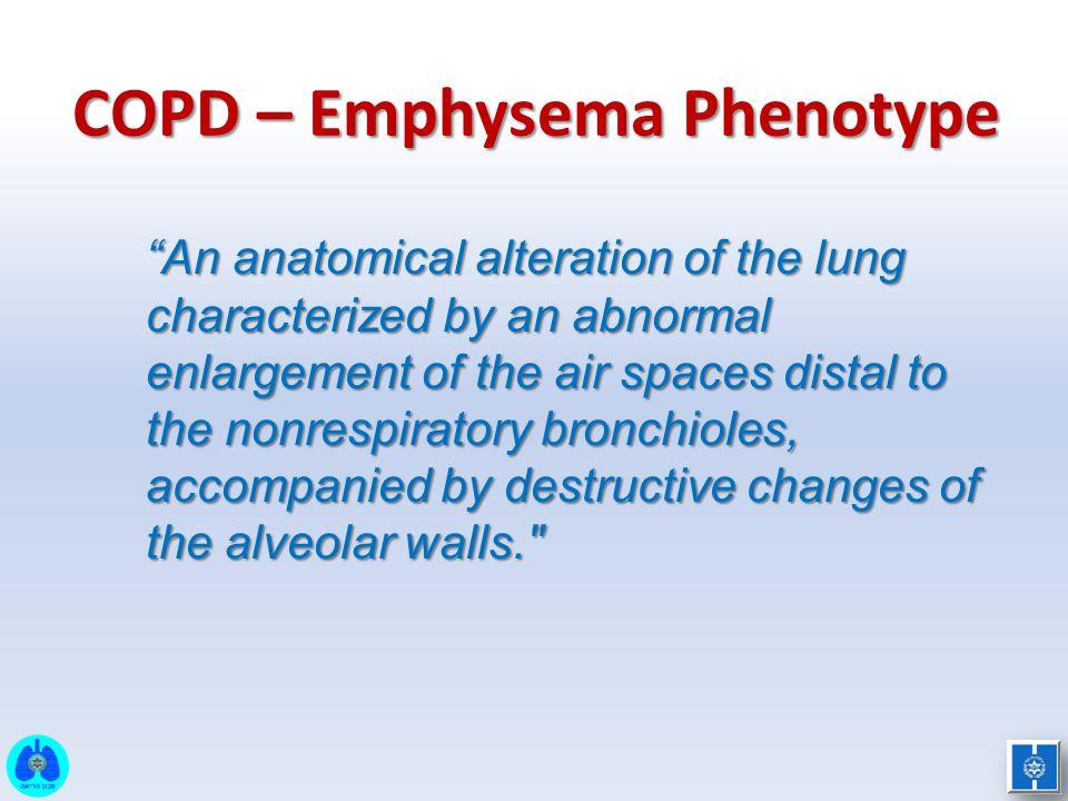 COPD – Emphysema Phenotype
