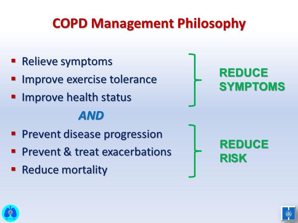 COPD Management Philosophy