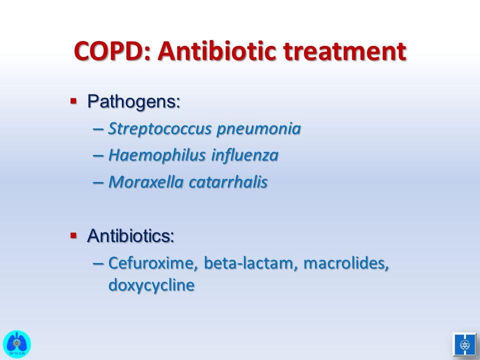 COPD: Antibiotic treatment