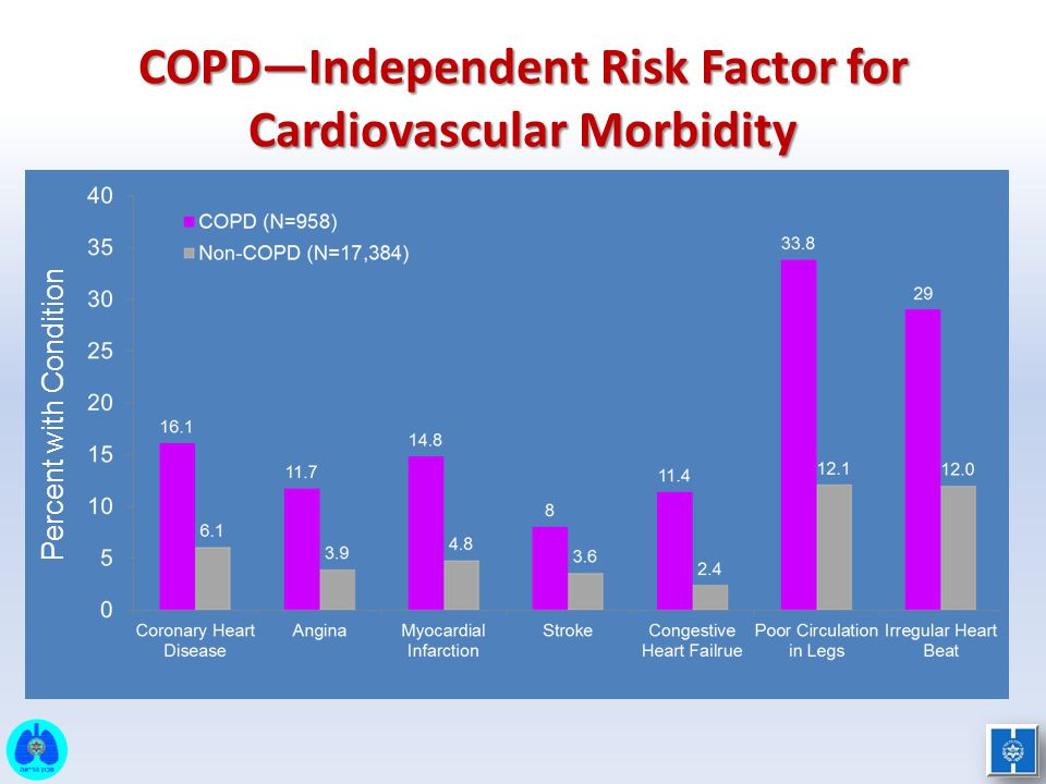 COPD—Independent Risk Factor for Cardiovascular Morbidity