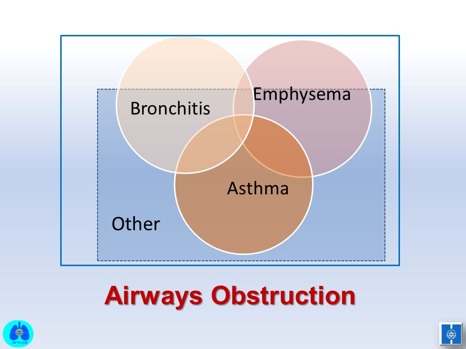 Emphysema Asthma Bronchitis Other Airways Obstruction