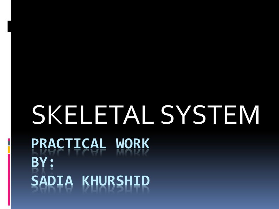 Practical work by: sadia khurshid