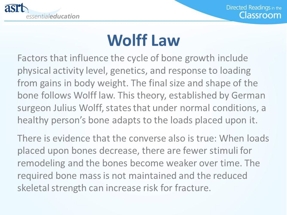 Wolff Law
