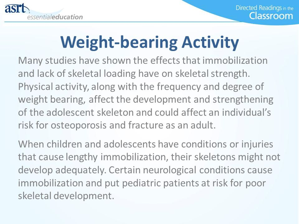 Weight-bearing Activity