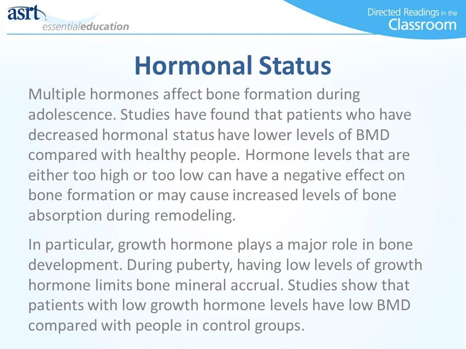 Hormonal Status