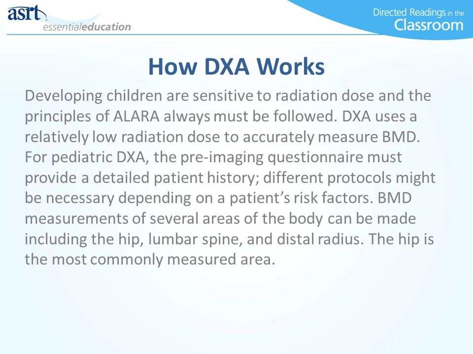How DXA Works