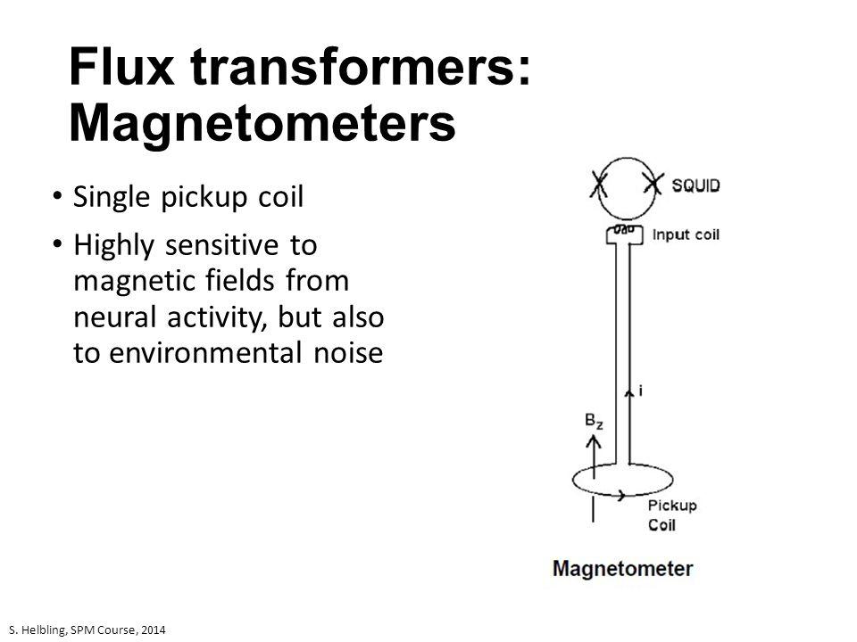 Flux transformers: Magnetometers