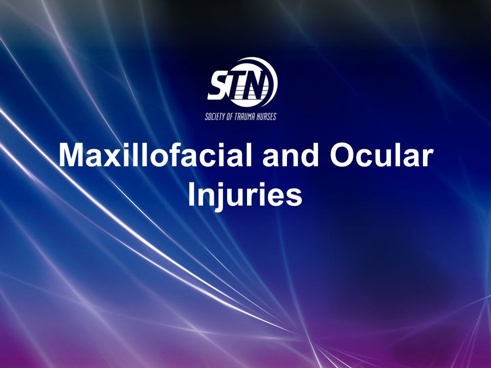 Maxillofacial and Ocular Injuries