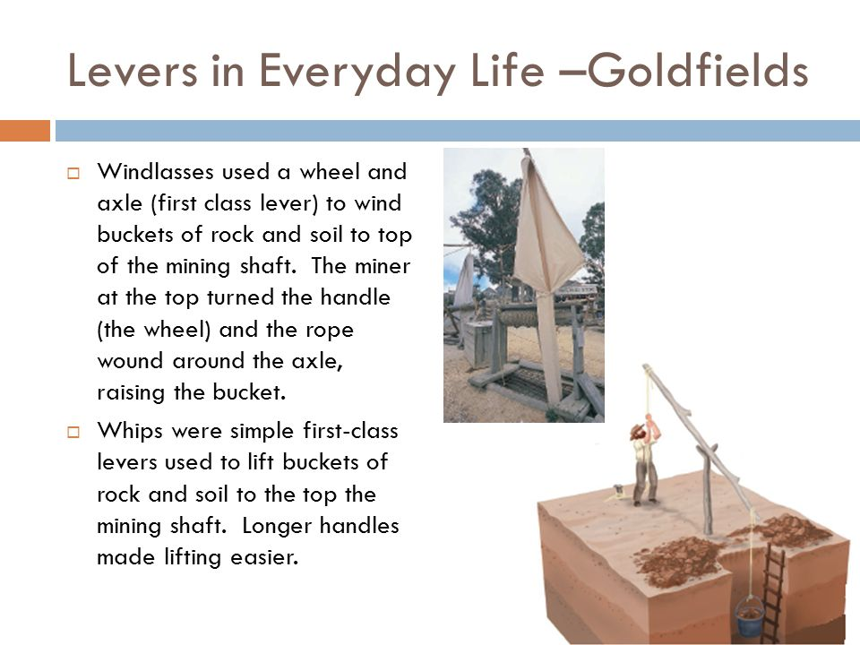 Levers in Everyday Life –Goldfields