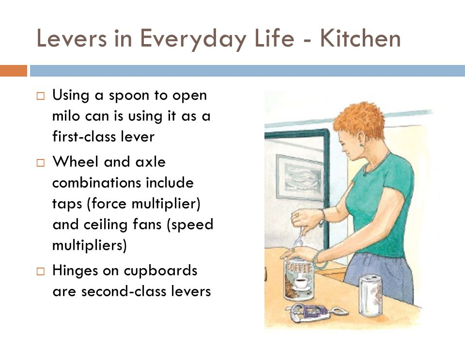 Levers in Everyday Life - Kitchen