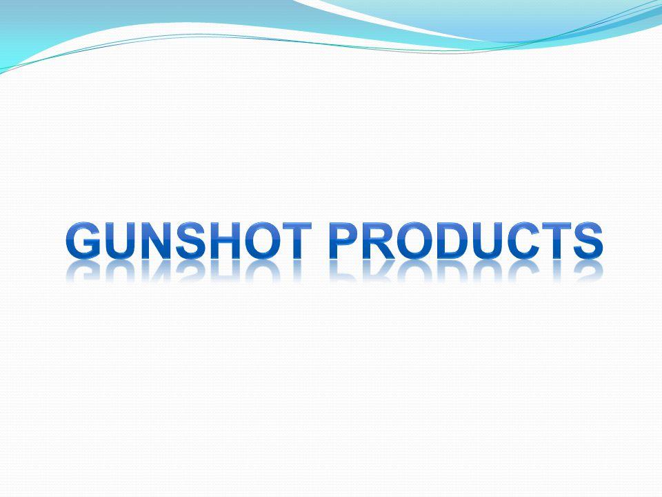 Gunshot products