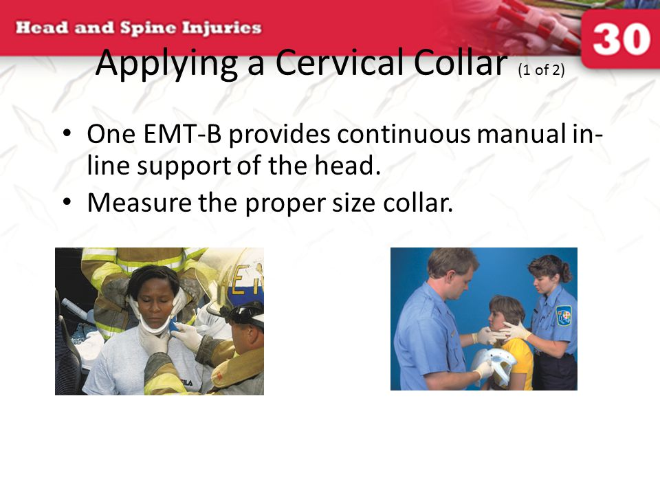 Applying a Cervical Collar (1 of 2)
