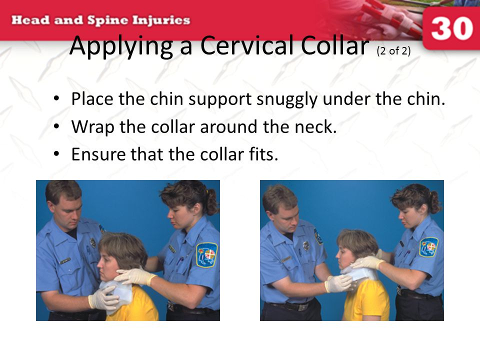 Applying a Cervical Collar (2 of 2)