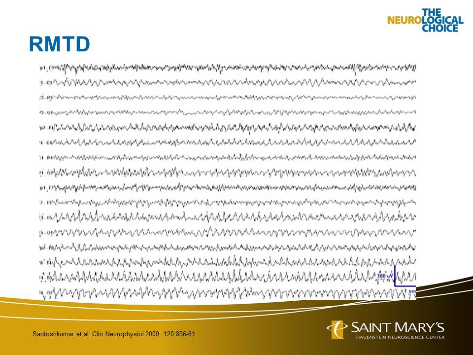 RMTD Santoshkumar et al. Clin Neurophysiol 2009; 120:856-61