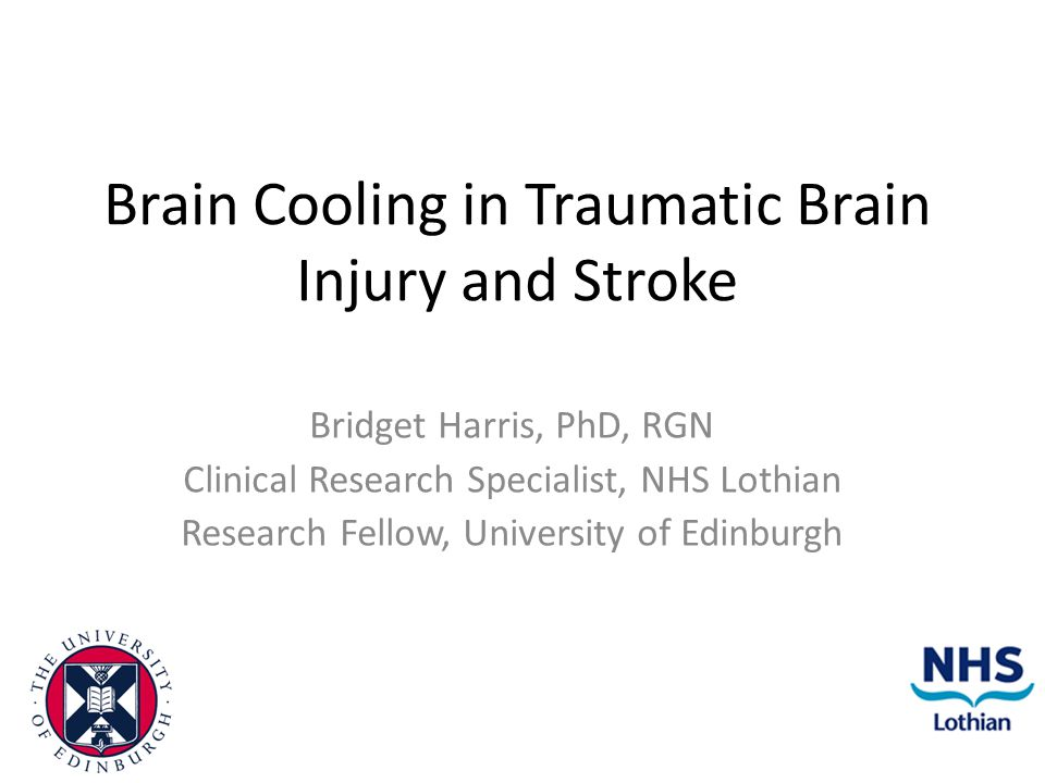 Brain Cooling in Traumatic Brain Injury and Stroke