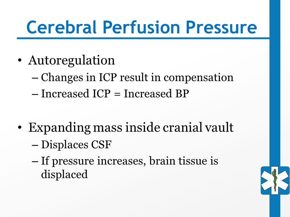 Cerebral Perfusion Pressure