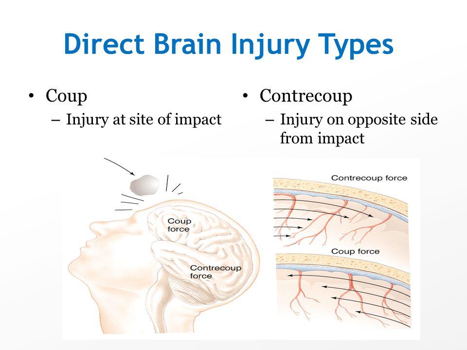 Direct Brain Injury Types
