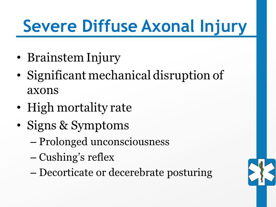 Severe Diffuse Axonal Injury