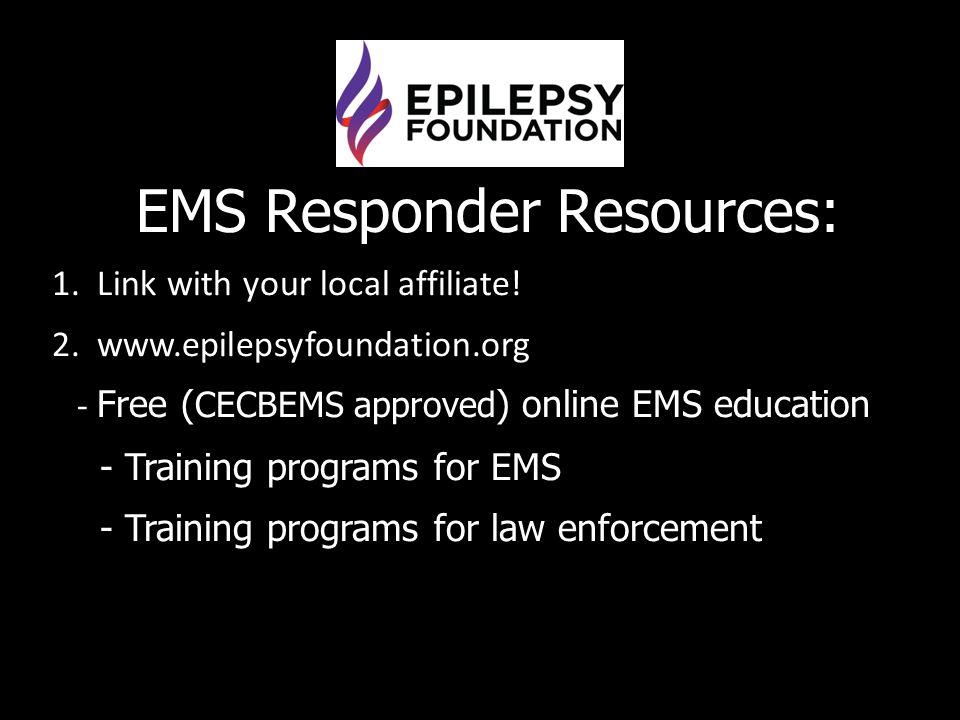 EMS Responder Resources:
