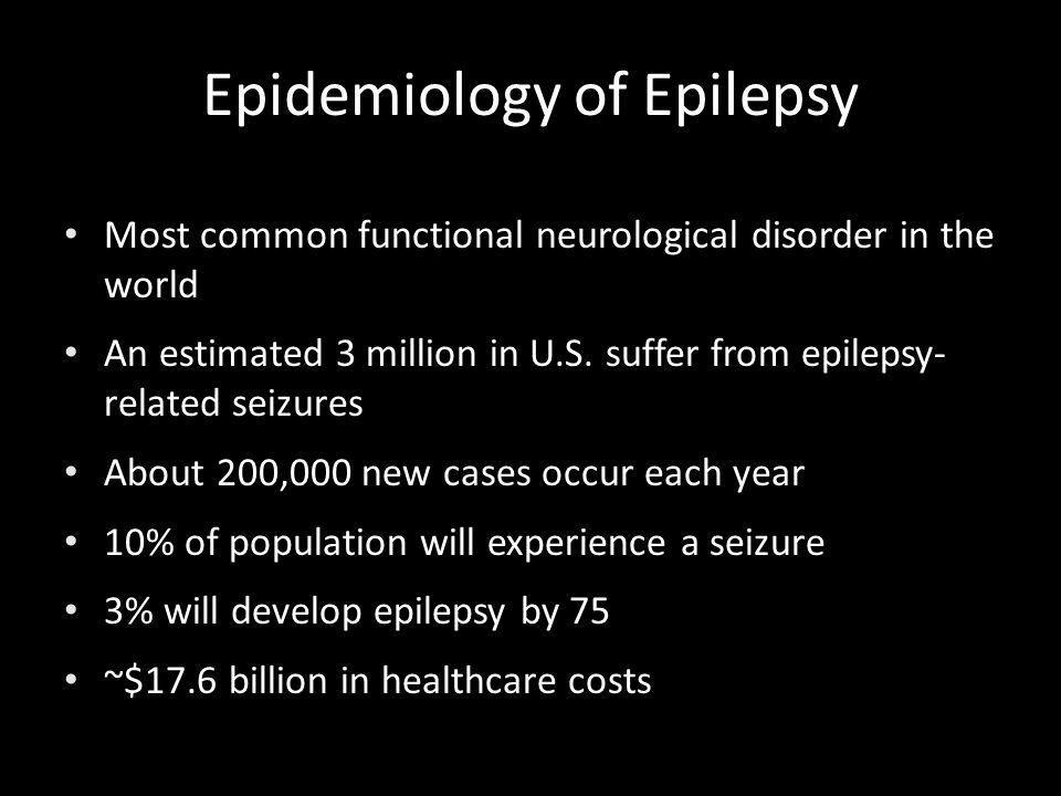 Epidemiology of Epilepsy