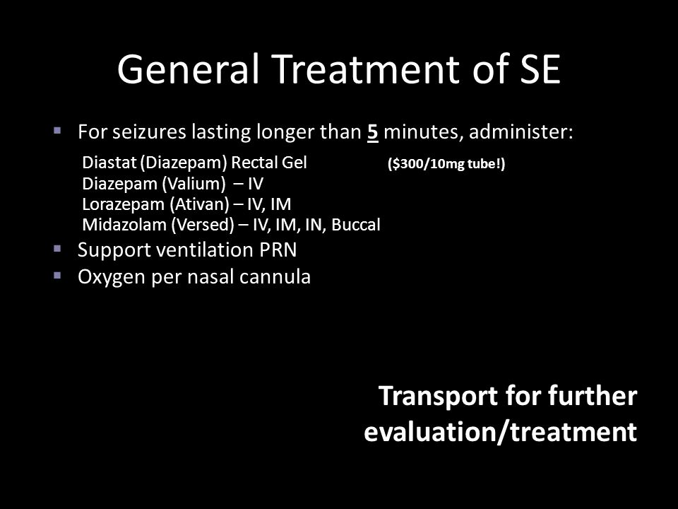 General Treatment of SE