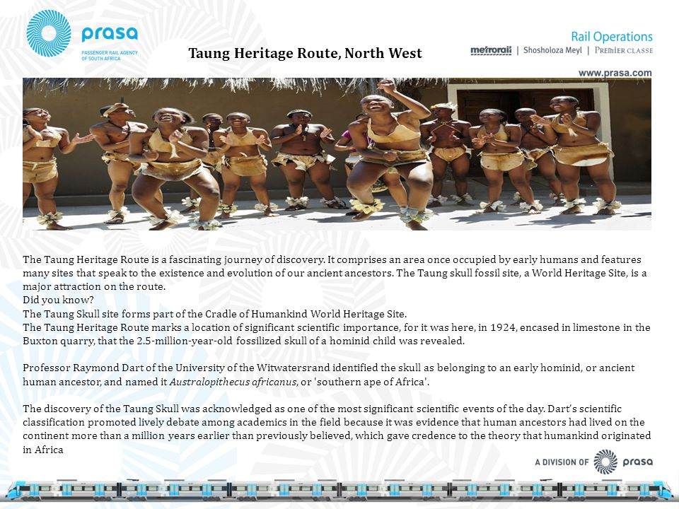 Taung Heritage Route, North West