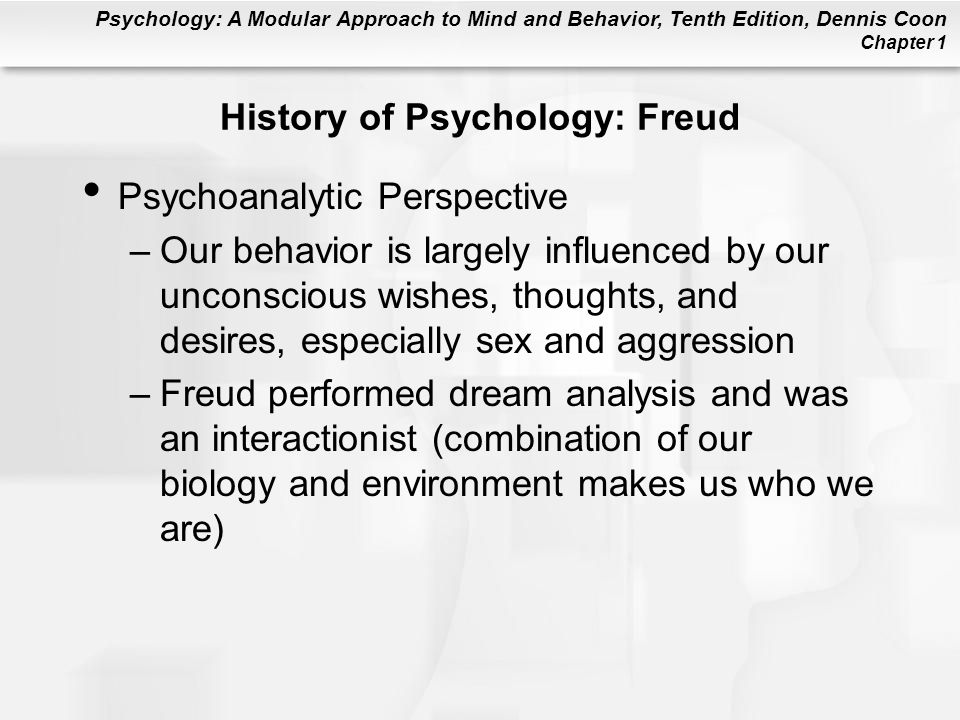 History of Psychology: Freud