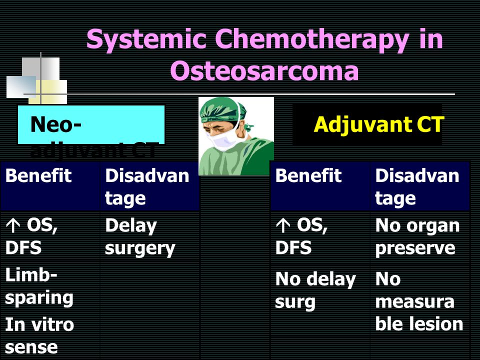 Systemic Chemotherapy in Osteosarcoma