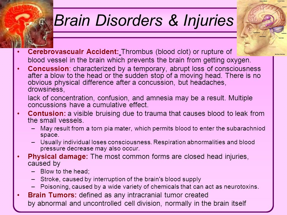 Brain Disorders & Injuries