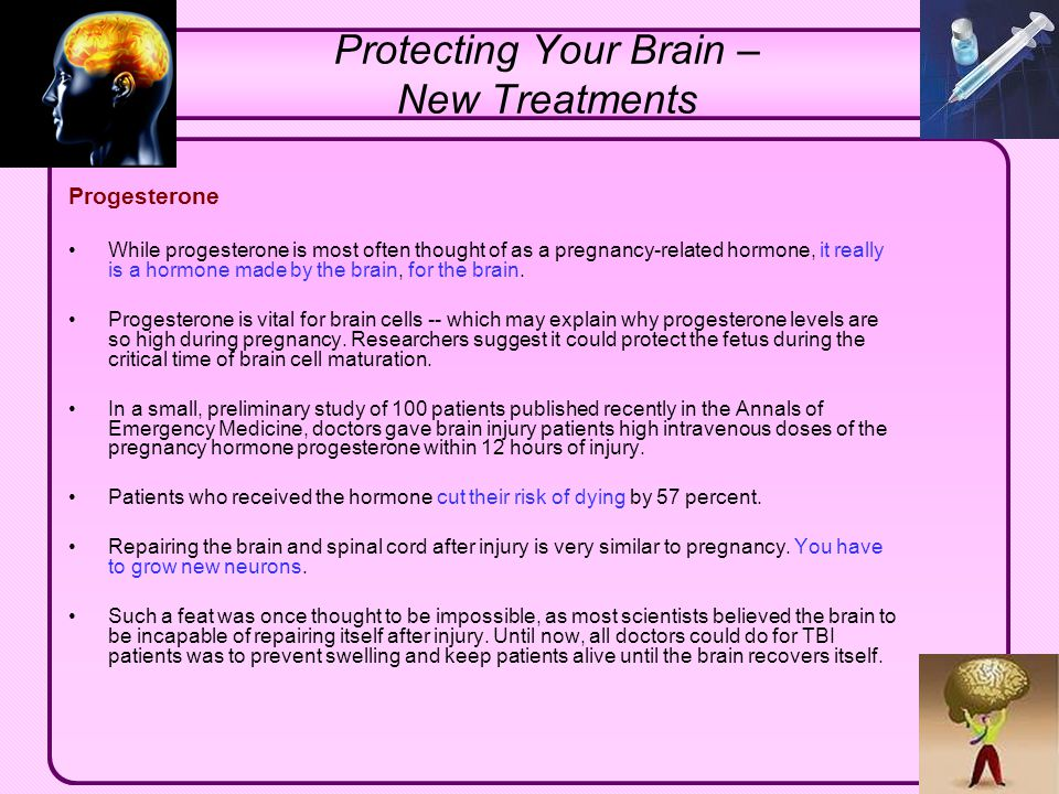 Protecting Your Brain – New Treatments
