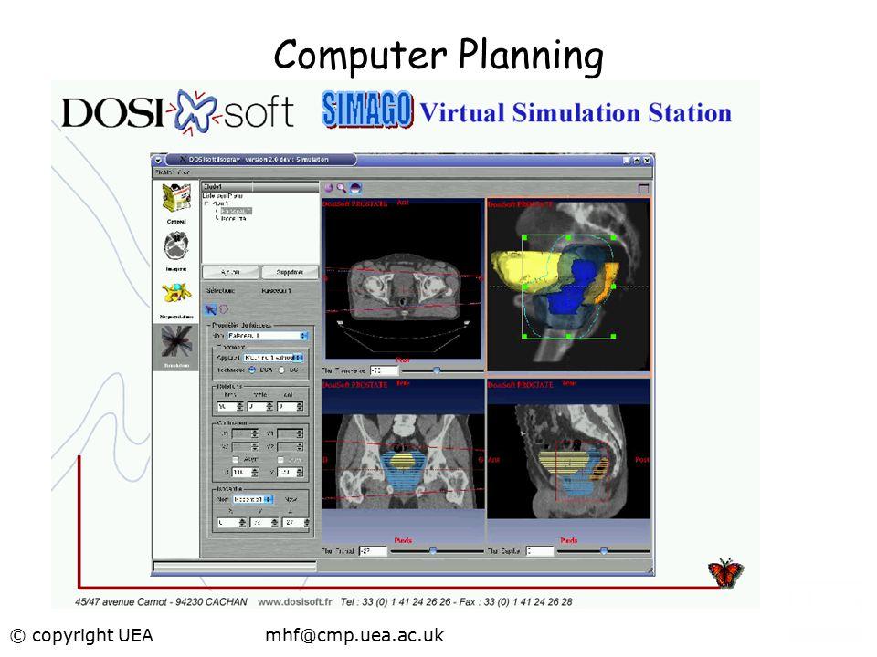 Computer Planning © copyright UEA mhf@cmp.uea.ac.uk