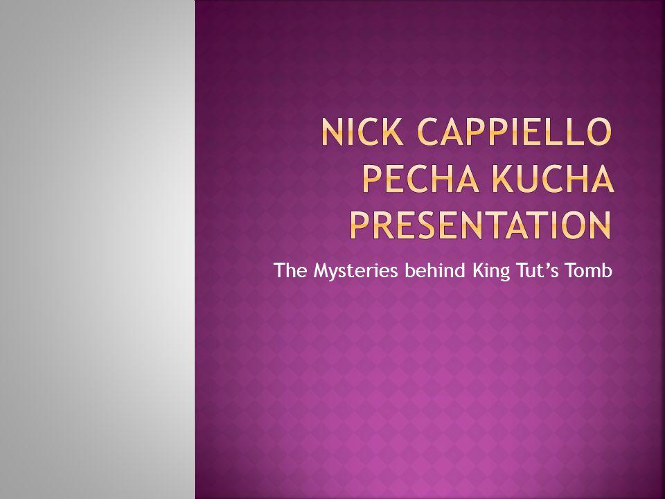 Nick Cappiello Pecha Kucha Presentation