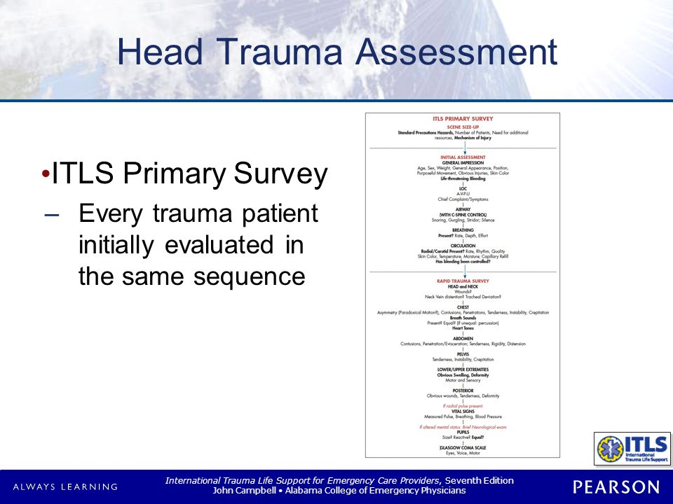Head Trauma Assessment
