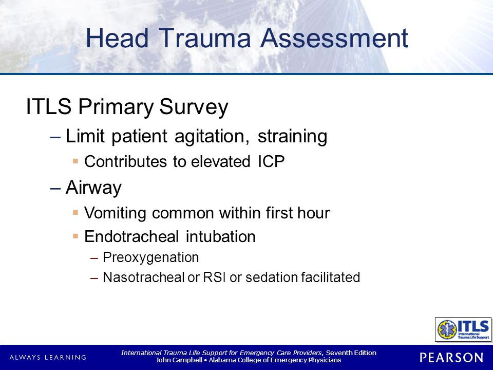 Head Trauma Assessment